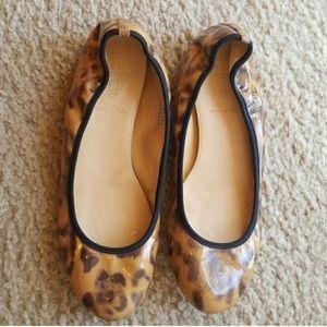 J.Crew leopard flats size 6.5